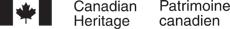 Heritage Canada logo