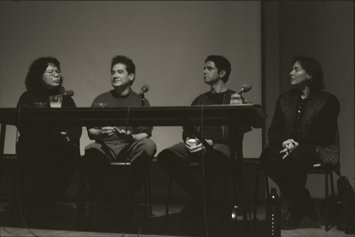 2002 12 01 Indian Acts Panel 4 and 5 Roll 5 9A Shelly Niro Edward Poitras Lynne Bell Greg Hill